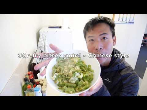 Stir-fry bitter gourd  - Chinese style