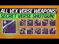 Destiny 2 - All Vex Forge Weapons! How To Obtain Forged Weapons & Secret Paradox Verse!
