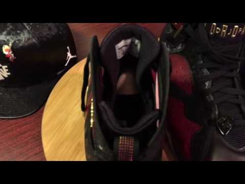 Jordan DB 7 on Feet Review w/Hoodie & Hat.
