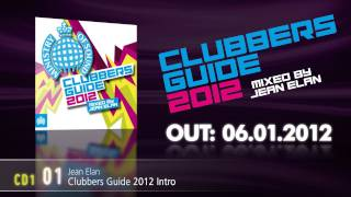 Clubbers Guide 2012 mixed by Jean Elan