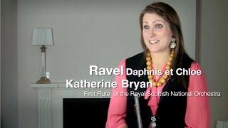 Равель, Дафнис и Хлоя, видео урок первой флейты симфонического оркестра Шотландии Катерина Бриан