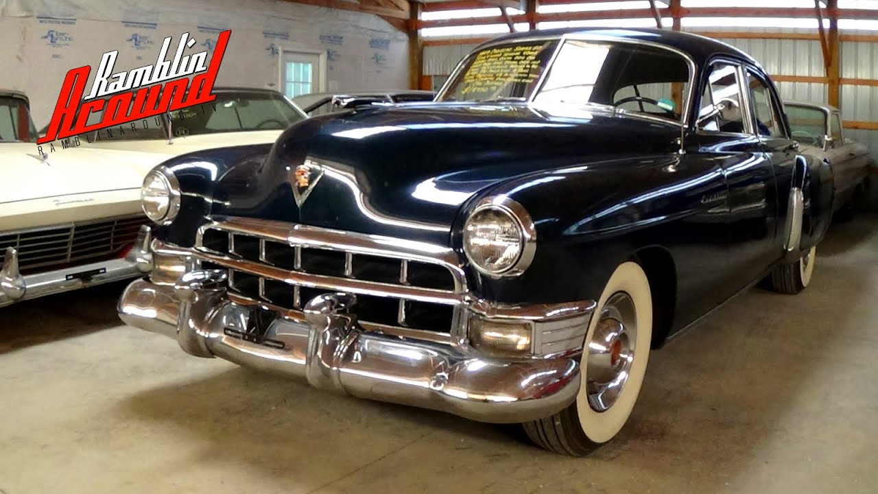 1949 Cadillac Fleetwood Series 60 Special - YouTube