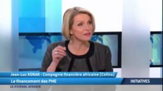 Mr Jean Luc KONAN, PDG du Groupe COFINA sur TV5 Monde