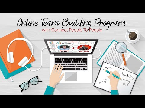Online Team Building Program with Connect People To People