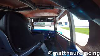 Matt Haufe #7 Legend Cars Road Course Racing Feature At New Hampshire Motor Speedway May 18, 2019