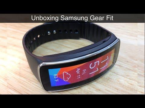 Unboxing Samsung Gear Fit Primeras impresiones