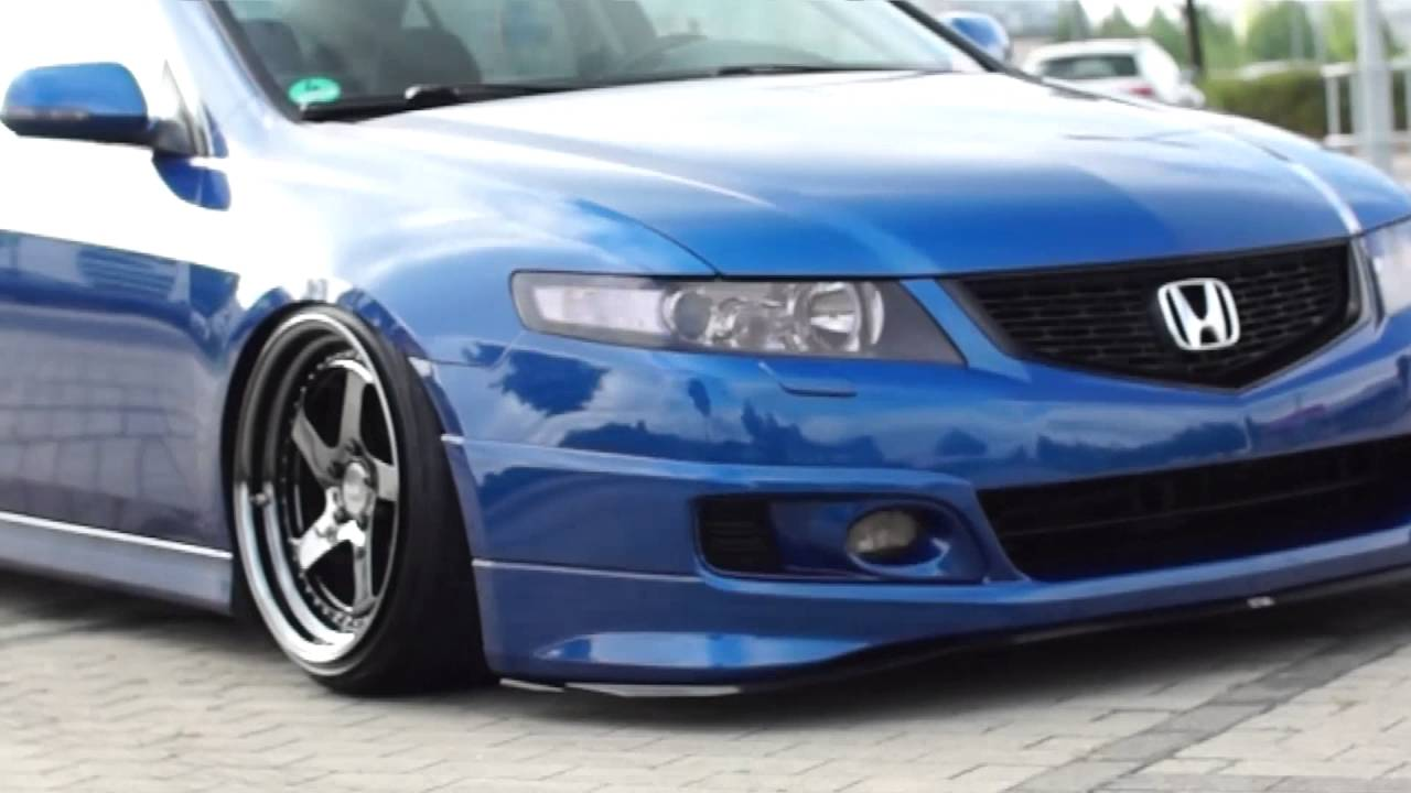 Honda Accord CLCLEuroR Acura TSX Static Camber YouTube - Acura tsx euro r