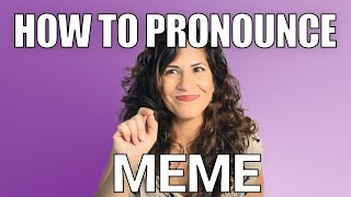Download lagu How to Pronounce Meme American English Pronunciation MP3