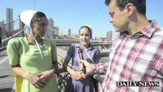 Breaking Amish Stars Vonda And Miriam take on New York City
