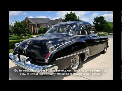 1949 Oldsmobile Eight Eighty Classic Muscle Car for Sale in MI Vanguard Motor Sales
