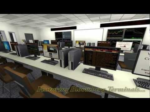 Virtual Living and Learning Center - Rohrer College of Business - VR Lab