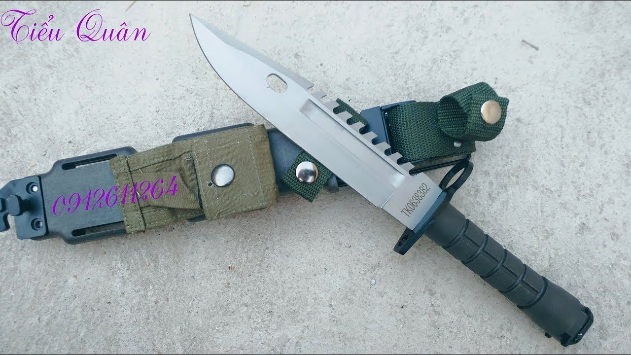 Mở Hộp Dao Găm M9 ( bản Replica ) - 0912611264