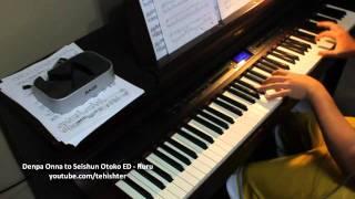 Denpa Onna to Seishun Otoko ED - Ruru (Piano Transcription)