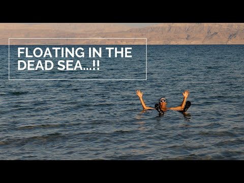 Israel Travel Vlog - We Floated In The Dead Sea And Hiked Masada!
