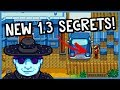 All NEW 1.3 Secrets Revealed! - *SECRET NOTES & RARE ITEMS!* - Stardew Valley 1.3 Content