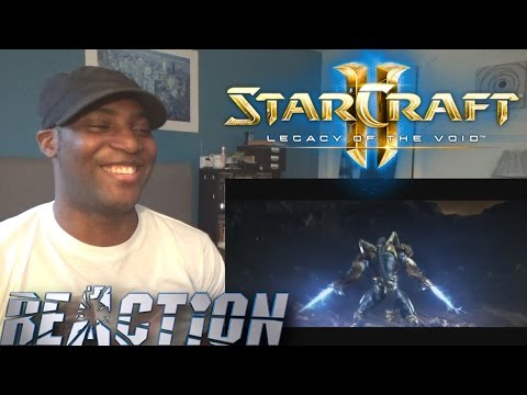 StarCraft 2 Legacy of the Void - Launch Trailer - REACTION!