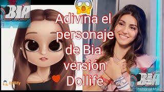 """ADIVINA EL PERSONAJE DE""""""""BIA"""""""" VERSIÓN DOLLIFE"""