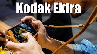Kodak Ektra, ¿teléfono móvil o cámara clásica?