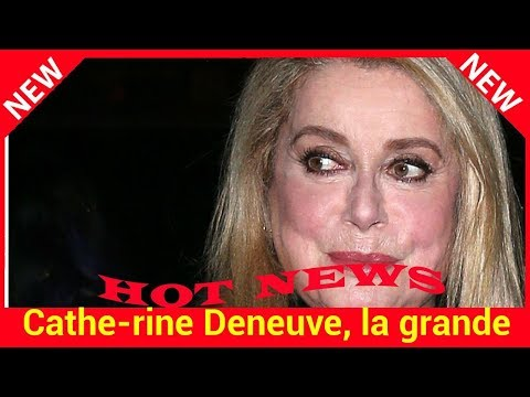 Catherine Deneuve, la grande absente de la cérémonie hommage à Johnny Hallyday