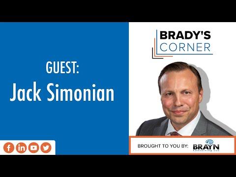 Brady's Corner with Brady Bryan | Guest: Jack Simonian