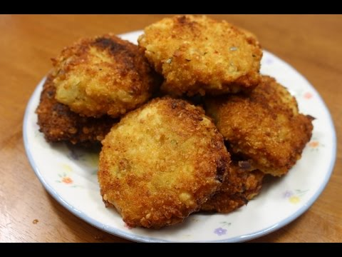 Quick And Easy Cauliflower Recipe!! (Cauliflower Cakes) Vegetarian!