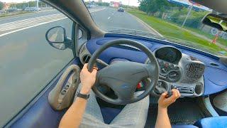 Fiat Multipla (1997 - 2004)   1.6 103 HP   POV TEST
