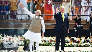 Trump's whirlwind 36-hour India trip in less than 4 minutes