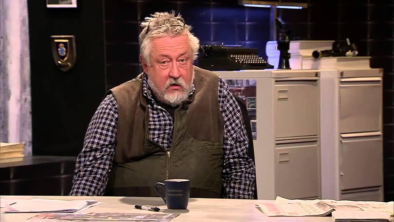 Leif G.W. Persson, blandat ur Veckans brott säsong 9 - YouTube