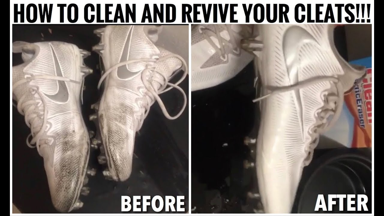 HOW TO CLEAN AND REVIVE YOUR CLEATS