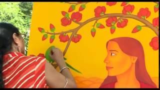 Art Workshop Organized By Lalit Kala Akademi Chandigarh | PTC Punjabi