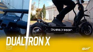 LA DUALTRON X - UNE TROTTINETTE ÉLECTRIQUE TROP PUISSANTE ? - LES TESTS DE SEB