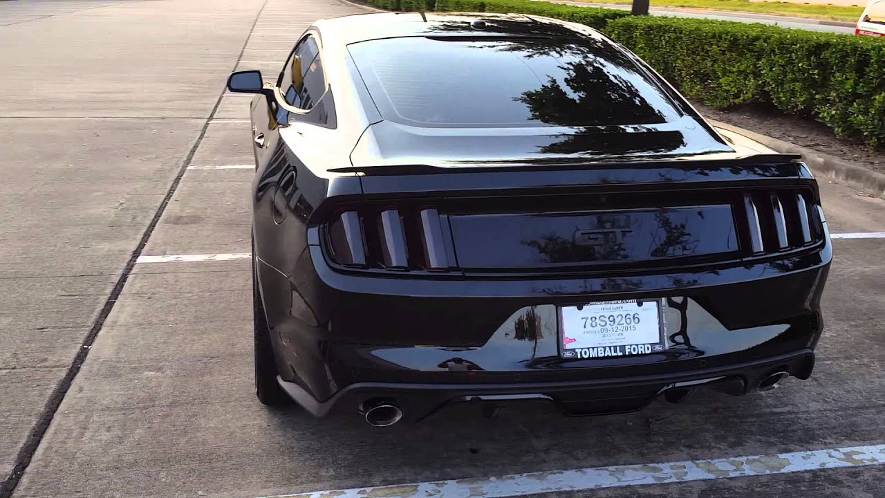 Blacked Out Tail Lights S550 Stang Youtube