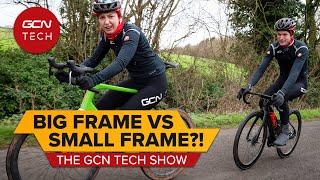 적절한 자전거 착용하기-크기를 늘리거나 줄여야합니까? | GCN 테크 쇼 Ep.171