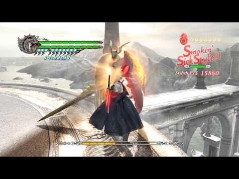 DMC4 - Boss Rush Mode - [DMD, Nero, No Damage] - Speedrun