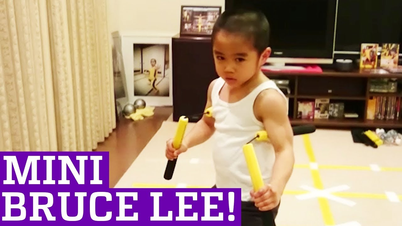 Kids are Awesome: Ryuji Imai - The Next Bruce Lee!