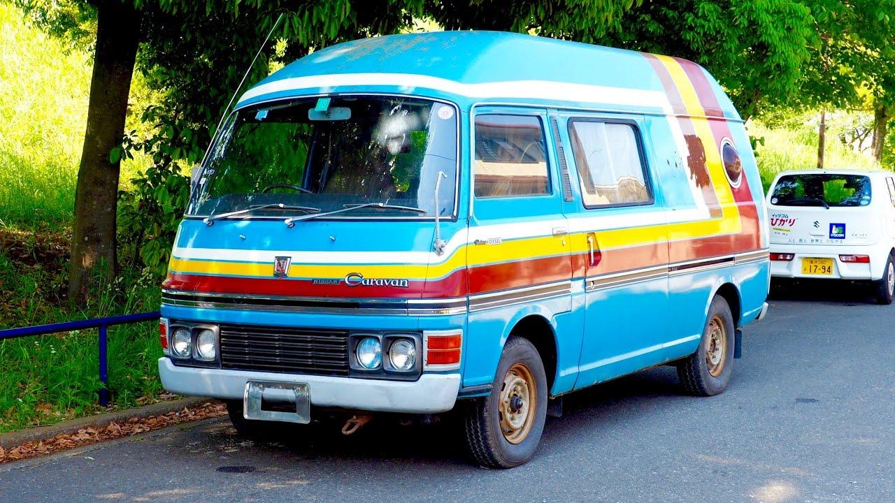 for sale 1972 nissan caravan diesel camping car tatami. Black Bedroom Furniture Sets. Home Design Ideas
