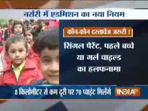 India TV debate : Delhi nursery admissions-1