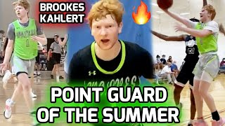 Brookes Kahlert Can RUN THE SHOW! Point Guard With ELITE Vision & FLASHY Play Style! Summer Mix 🔥