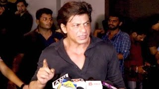 Shahrukh Khan Gets Angry On Reporter When Ask A...