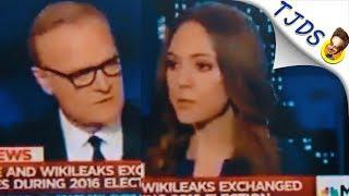 MSNBC Gaslights Viewers & Dishonestly Smears Wikileaks