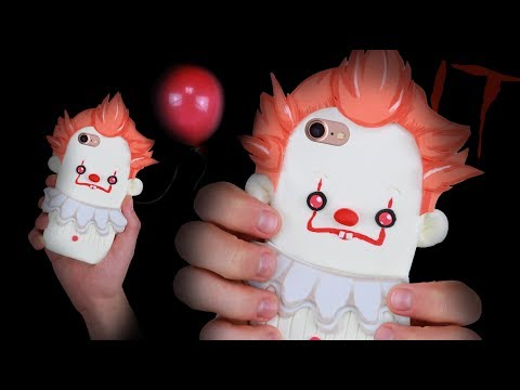 DIY PENNYWISE (IT) INSPIRED PHONE CASE - Using only 3 INGREDIENTS!?