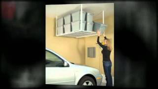 Overhead Garage Storage Racks For Your Home