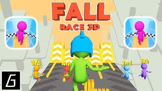 Fall Race 3D - Gameplay - First Levels 1 - 20 (iOS - Android)