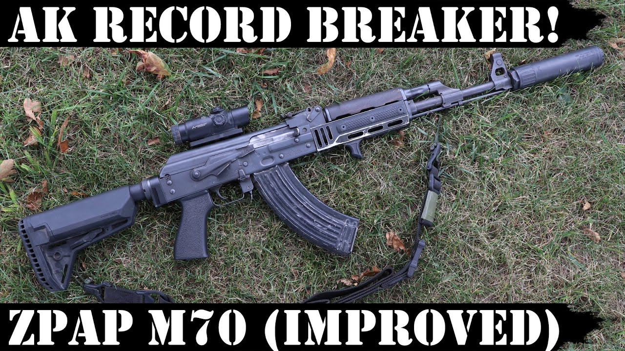 AK Record Breaker! ZPAP M70 (Improved) - 4,000 Rounds!