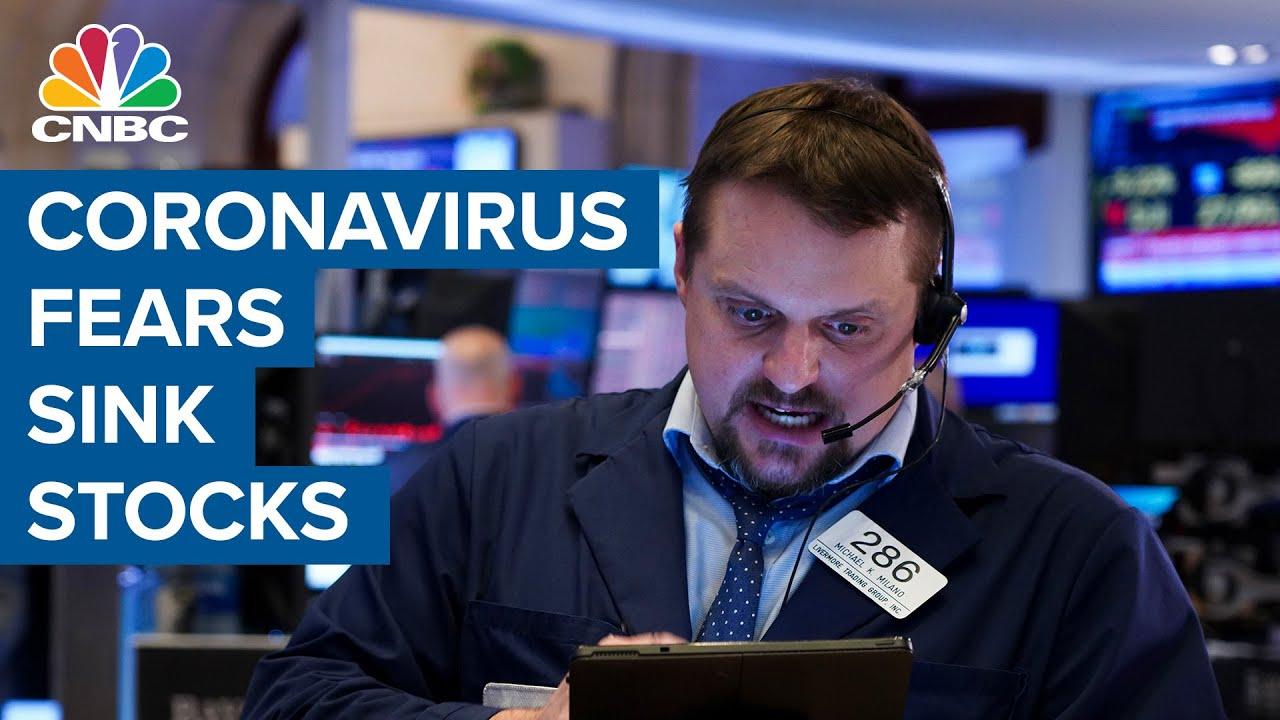U.S. Stocks Rocked Again; Dow Jones Leads Downside, But Top ...