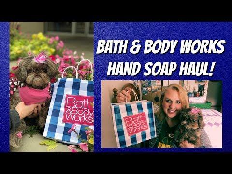 BATH & BODY WORKS $3 SOAP SALE!