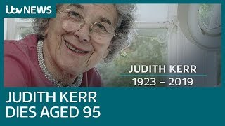 The Tiger Who Came To Tea author Judith Kerr dies aged 95 | IT…