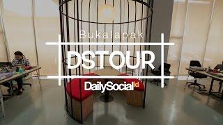 Menikmati Dekorasi Ala Pasar di Kantor Bukalapak | DStour #4