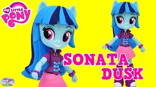 custom my little pony sonata dusk equestria girls diy tutorial surprise egg and toy collector setc