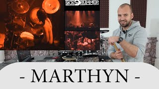 Drum Teacher Reacts To Marthyn Jovanovic